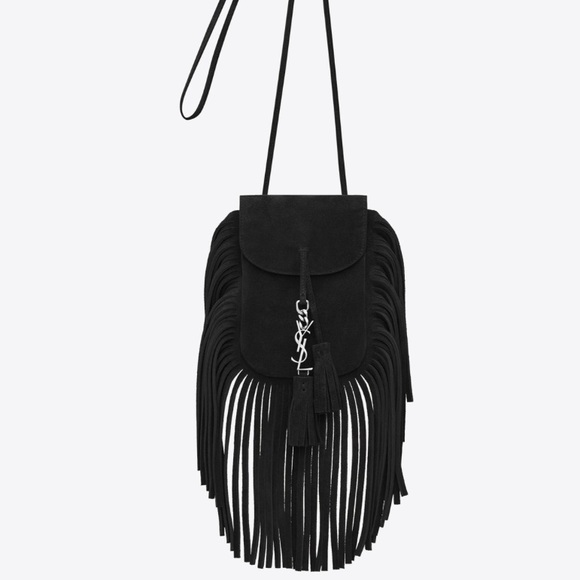 30c7428b59 BUY NOW NWT YSL Anita fringe bag